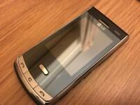 LG KF750 Mobile phone working with box and accessories