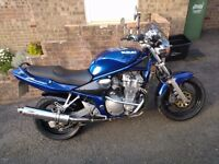 SUZUKI BANDIT 600 MK2, LOW MILES, GREAT CONDITION. LOTS OF EXTRAS