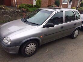 Vauxhall Corsa 1.4 12 months m.o.t