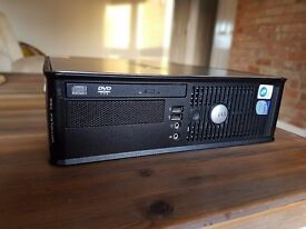 Silent HTPC Dell Optiplex 775 upgraded with SSD 120GB + 4GB Ram + Decicated Asus Graphic Card