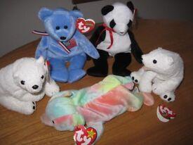 Ty Beanie Baby Bears
