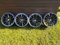 BMW 19 INCH STAGERED ALLOY WHEELS