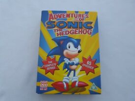 Adventures of Sonic the Hedgehog - Complete Series 8 DVD Box Set
