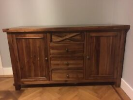 Dining Room table/chairs, matching sideboard & coffee table and console table
