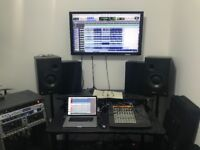 £5 an hour music recording studio - - for bands, producers, podcasters, teachers