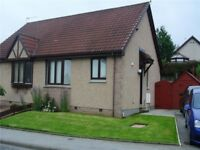 2 bed semi detached house - available 01/10/18 Davidson Drive, Inverurie, Aberdeenshire