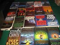 Stephen Coonts books $1 each or $15 for the lot