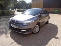 Renault Megane Dynamique Tomtom dCi Edc 5dr (grey) 2014