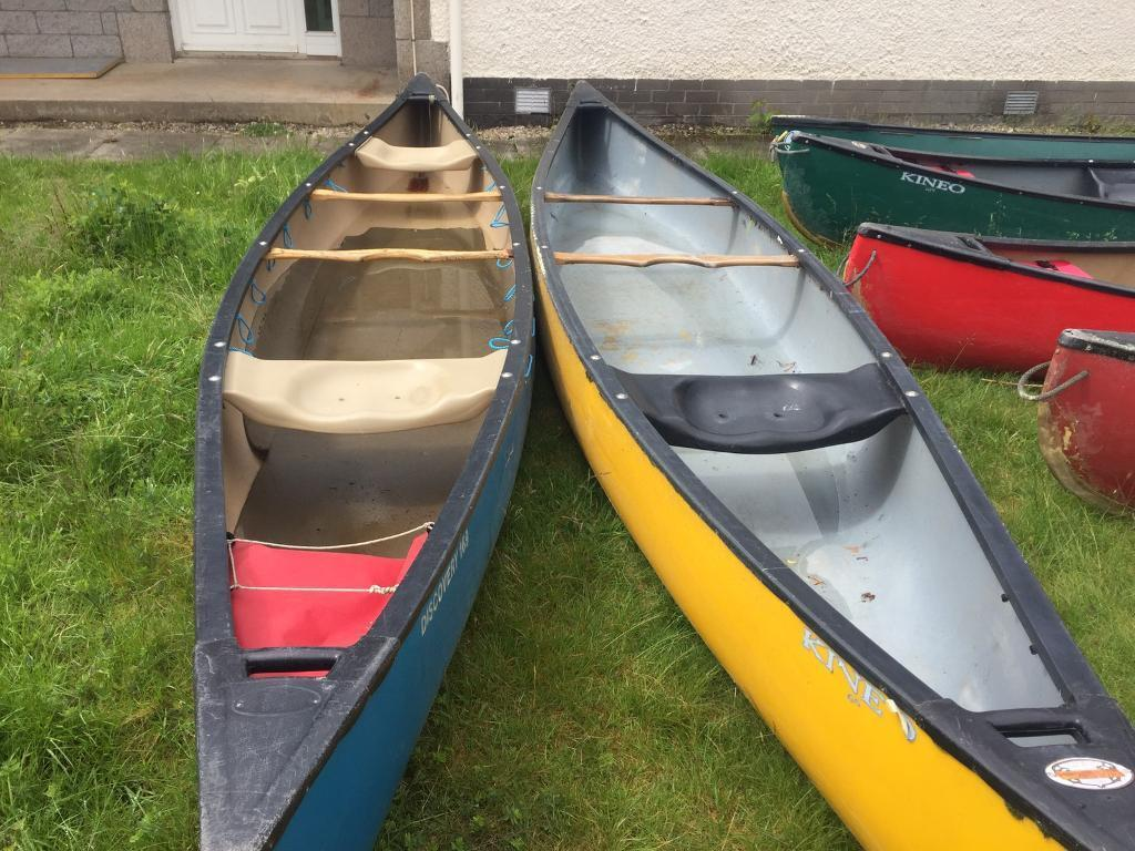 Canadian canoesin Inverness, HighlandGumtree - 6 Canadian canoes available,all well used but still have plenty of life left in them! £200 £300 depending on boat!!