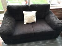 Very comfy two seater sofa