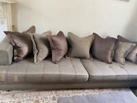 Sofa set - 2 sofas + ottoman