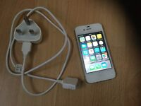 APPLE IPHONE 4S 16GB WHITE FOR SALE