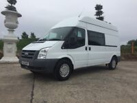 *** 2012 TRANSIT 115 T350 L.W.B 8 MAN WELFARE VEHICLE ONLY 70000 MILES FOR NEW***