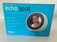 For sale Amazon Echo spot (Alexa) in white