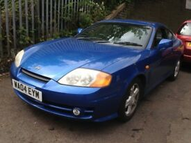 Hyundai Coupe 2004 2.0 petrol blue - breaking for spares