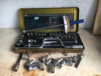 Socket set and accessories