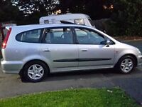 02 Plate Honda Stream 7 seater 5 Door Estate/MPV/People Carrier, Garage Maintained since new.