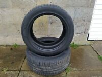 2 x Nokian Winter Tyres 245/45 R17 99 V XL