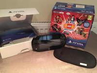 PS Vita PCH-2016 excellent condition, in box