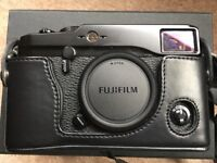 Fujifilm X-Pro1 Boxed with as-new leather case and charger
