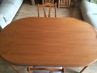 Dining table and x6 chairs