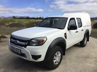 2011 New model ford ranger double cab. 1 council owner very low miles fantastic order and big spec
