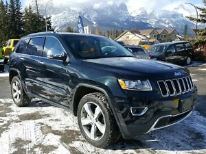 2015 Jeep Grand Cherokee Limited Heated Seats Navigation Sunroof