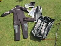 WETSUIT AND SCUBA EQUIPMENT