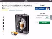 coffee maker (NESCAFE Manual Coffee Machine- Black)