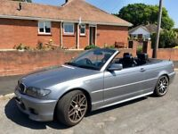 BMW 330 Ci 2003 Series 3 Convertible, Petrol Very Good Condition