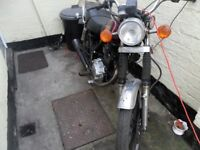 MOTORBIKE 125 CC SPARES OR REPAIRS PROJECT
