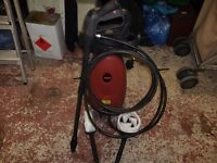pressure washer with 2 brush attachments