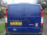 Mercedes Vito with twin sliding doors 111 cdi