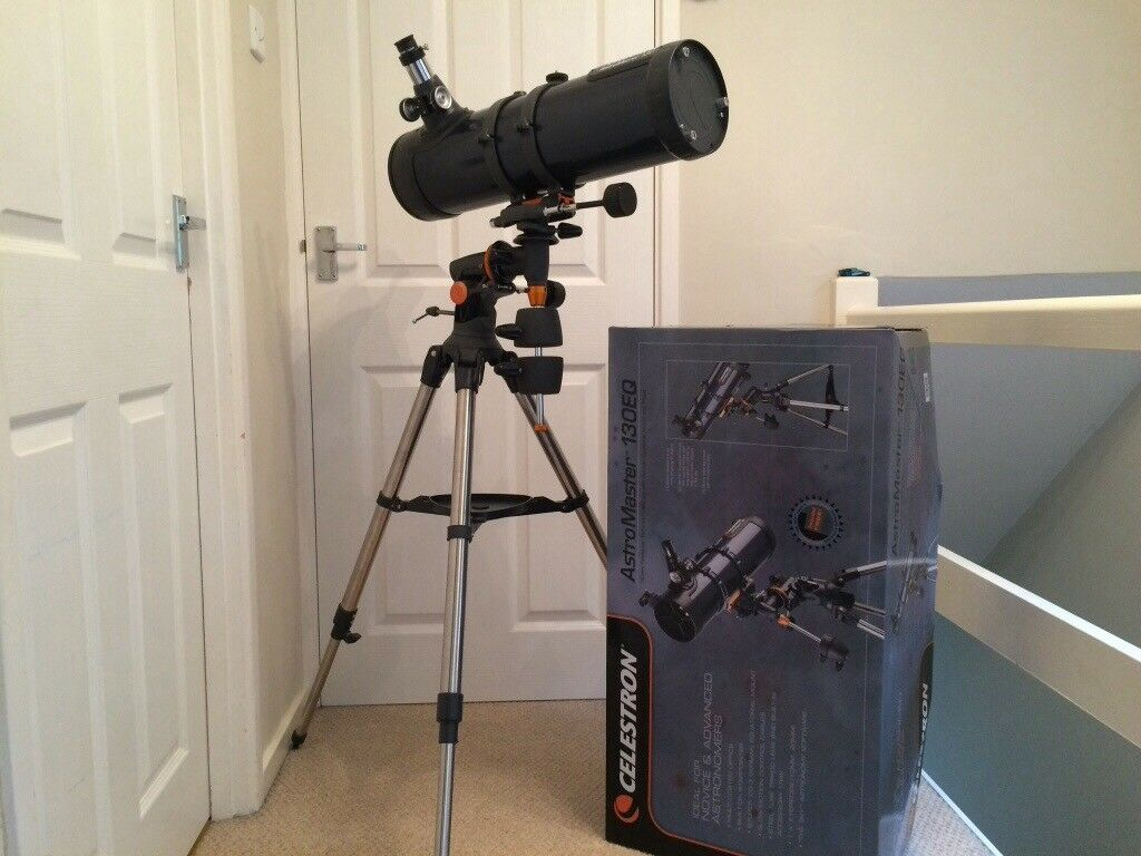 Celestron astromaster 130eq telescope excellent condition in