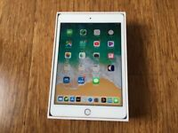 Ipad Mini 4 64GB, Gold, Retina & Touch ID, boxed, as new, UK Model
