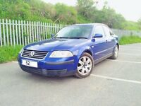 VW Volkswagen Passat 1.9 TDi SPORT PD 130 2002 Spares or repair s breaking engine parts alloys