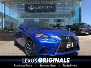 2015 Lexus IS 250 F-Sport Series 2 Navigation Backup CAM
