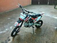 M2R racing KM140MX 140cc Pit Bike