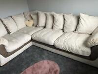 Lh corner sofa for sale