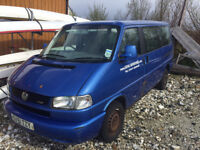 VW Multivan T4 2.5TDI (many new parts inc winter tyres)