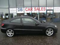 DIESEL AUTO !!! 2009 09 MERCEDES-BENZ CLC-CLASS 2.1 CLC220 CDI SPORT 3D AUTO 150 BHP ** PART EX WEL