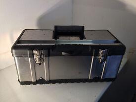 Toolbox - aluminium and plastic