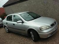 Vauxhaul Astra Automatic (maybe swap motorbike why?)