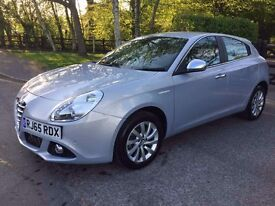 2015 65 PLATE ALFA ROMEO GIULIETTA DISTINCTIVE JTDM-2 BLUE 1598cc DIESEL CAT C IMMACULATE CONDITION