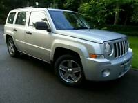 2008 JEEP PATRIOT 2.0 CRD SPORT*S/HIST*140-BHP/6-SPEED*MINT CONDN*AUDI/VW ENGINEERING*#SUV#4X4