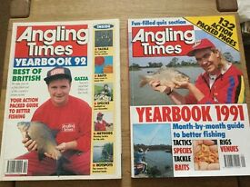 Angling Times Yearbook 1991 & 1992