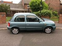 nissan micra 1.0 16v tax and tested excellent condition £375