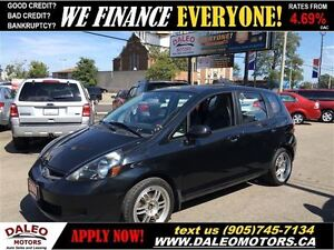 2007 Honda Fit LX 1.5L 5 SPEED EXCELLENT FUEL ECONONY