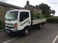 Nissan cabstar pickup low mileage