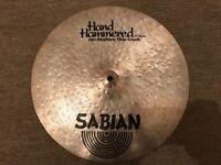 "Sabian HH (Hand Hammered) 15"" Medium Thin Crash Cymbal - RRP £279"